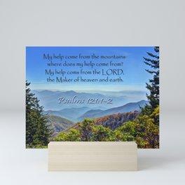 Psalms 121:1-2 Mini Art Print