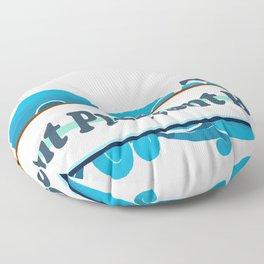 Point Pleasant Beach - New Jersey. Floor Pillow