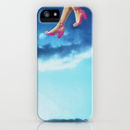 Walking on Air iPhone Case