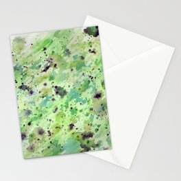 Toxic speckle Stationery Cards