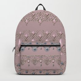 Gold lace 2 Backpack
