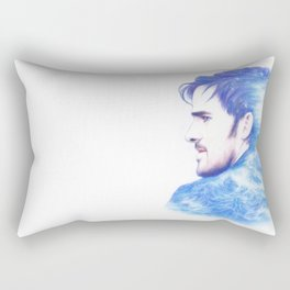 Born With The Sea In His Blood Rectangular Pillow
