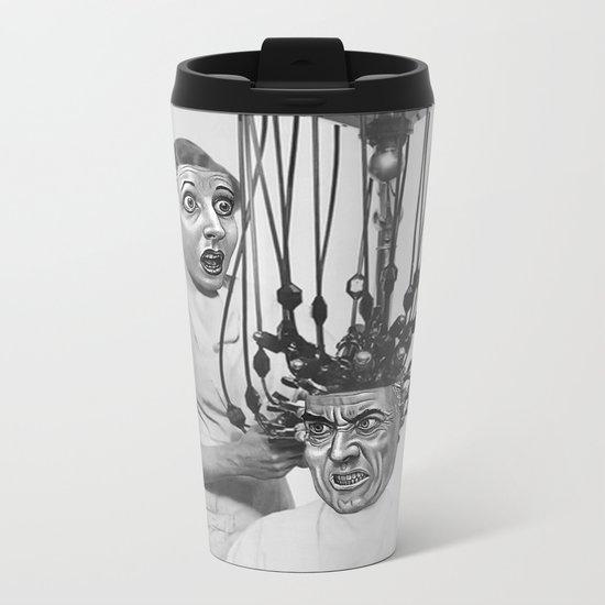 UH OH Metal Travel Mug