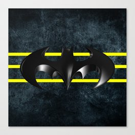 Bat Logo Canvas Print