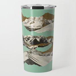 Golden Zugspitze / Turquoise Travel Mug