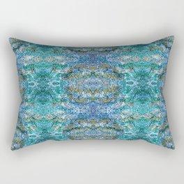 Fields of ocean Rectangular Pillow