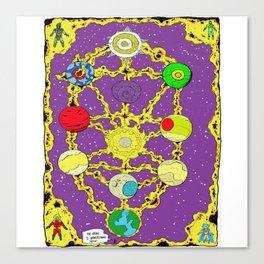 World Tree Canvas Print
