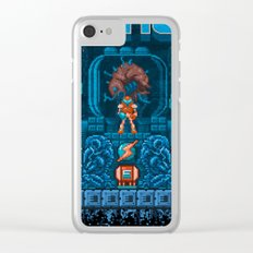 Metroids Clear iPhone Case