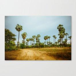 Burma's Country Roads I Canvas Print
