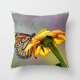 Think spring Throw Pillow