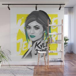 Kylie Jenner Wall Mural