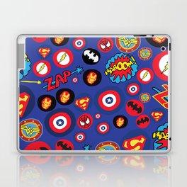 Movie Super Hero logos Laptop & iPad Skin