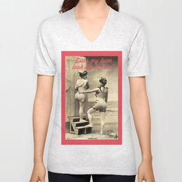 Vintage Girls Unisex V-Neck