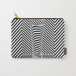 Striped Water Carry-All Pouch