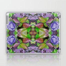 AUTUMN HYDRANGEA MANDALA Laptop & iPad Skin