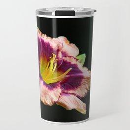 Peachy Keen Lily Travel Mug