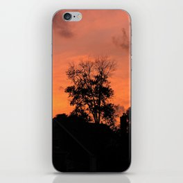 Treee on Fire iPhone Skin
