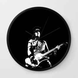NIKKI ON STAGE Wall Clock