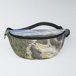 Magnificent Barron Falls in Queensland Fanny Pack