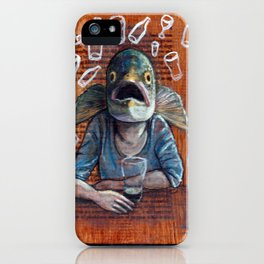 Drinks like a Fish iPhone Case