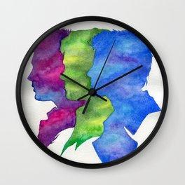 Team Free Will Wall Clock