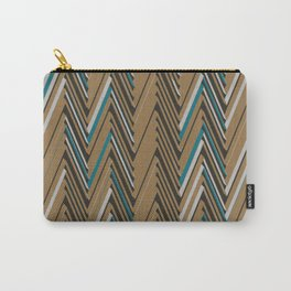 Abstract Chevron III Carry-All Pouch