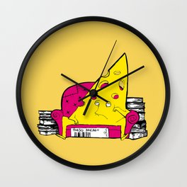 QUESO RALLAO (aka GRATED CHEESE) Wall Clock