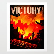 World War Z Art Print