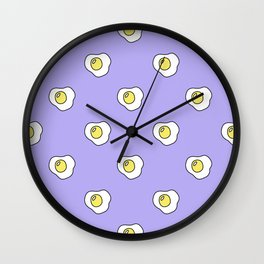 Pattern eggs Wall Clock