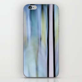 Buttery Lines (Abstract Blue) iPhone Skin