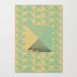 Studded ocean Canvas Print