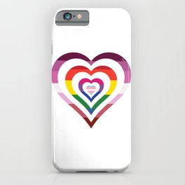 LGBT Hearts iPhone Case