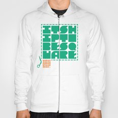 hip to be square Hoody