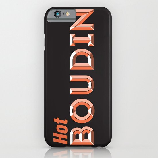 Hot Boudin iPhone & iPod Case