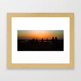 Sunset on Kakadu Framed Art Print