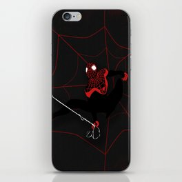 Ultimate Spider-man Miles Morales iPhone Skin