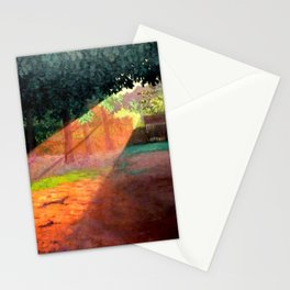 Ray of Sun - Don't Give Up, Don't Give Up, Don't Give Up by Félix Vallotton Stationery Cards