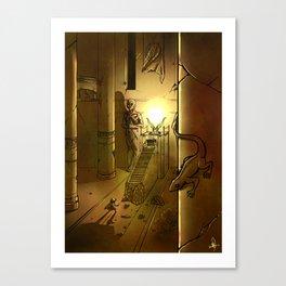Templo Canvas Print