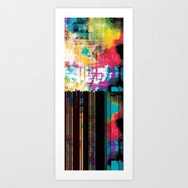 Ultraviolet Rain Art Print