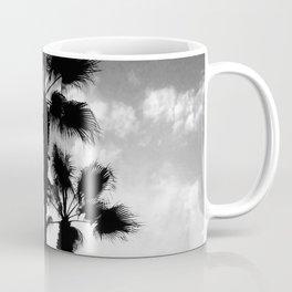 Black and white palms Coffee Mug