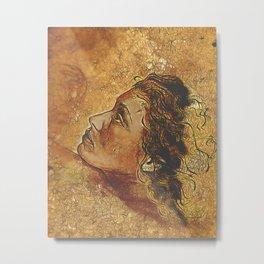 Yearning~ Woman Metal Print