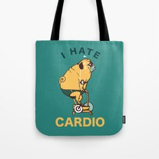 I Hate Cardio Tote Bag