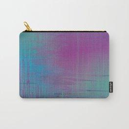 Purple Rainstorm Carry-All Pouch