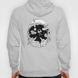 Depth of Discovery (A Case of Constant Curiosity-B/W) Hoody