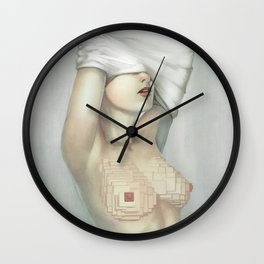 Mosaic Tatas Wall Clock