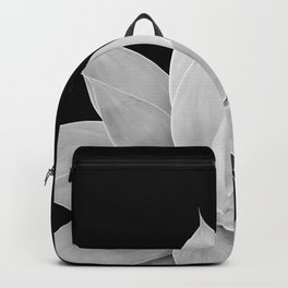 Gray Agave on Black #2 #tropical #decor #art #society6 Backpack