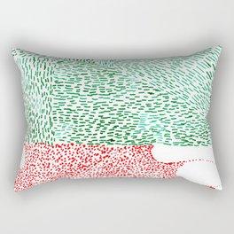 oh my square head Rectangular Pillow