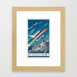 100 Years of Aviation Framed Art Print