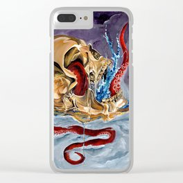 Spiced Treasure Clear iPhone Case