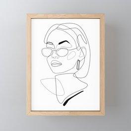 90s Look Framed Mini Art Print